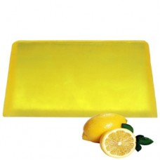Lemon Aromatherapy Soap Slice