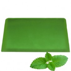 Peppermint Aromatherapy Soap Slice