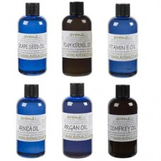 Aromatherapy Base Oil SIX Bottle Gift Pack
