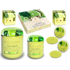 Lime Splash Heart & Home Gift Set 7 Piece