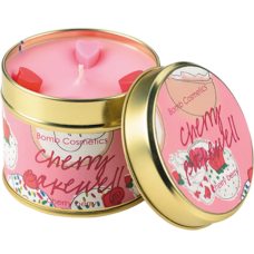 Cherry Bakewell Candle In A Tin